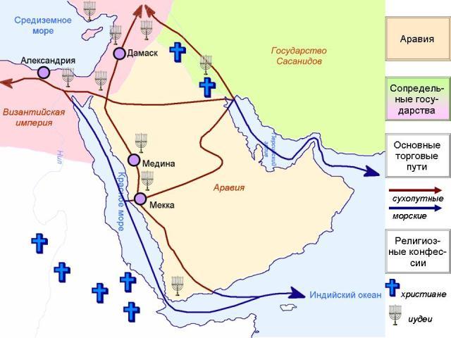 Jazirah Arab sebelum masuknya Islam.