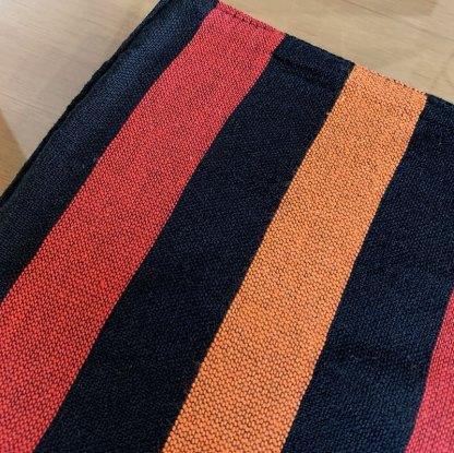 Individuales en algodón rayas de colores