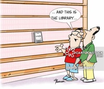 'And this is the Library'.