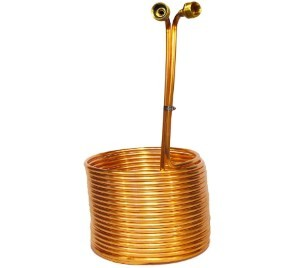Learn To Brew LLC Copper Coil Immersion Chiller 50 Feet Length