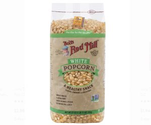 Bob's Red Mill Whole White Popcorn Review