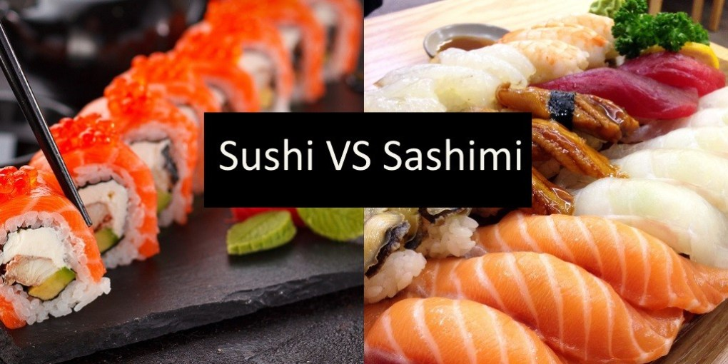 Sushi vs Sashimi