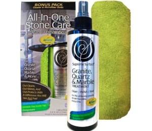 Supreme Surface Granite & Quartz, Cleaner, Polish and Sealer Review