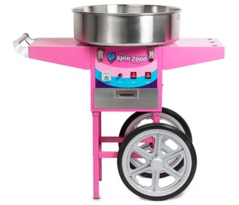 Olde Midway Cotton Candy Machine Cart Review