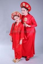 1197r. Вьетнамские костюмы - мама и дочь