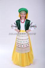 4061. Белорусский народный костюм для девочки