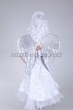 0510. Крылья ангела серебристые