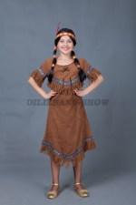 5643. Индейская девочка