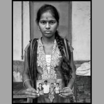 Bocha Manisha, of Gauraya Palle village, Telangana: Both her parents committed suicide. Later, her grandmother too passed away. She now works to support herself and her younger brother.