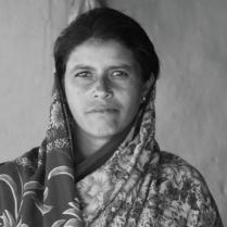 Manjubai of Son Wadhona village, Vidharba: Debts remain even after death. Manjubai used the compensation money to pay the private moneylenders from whom her husband had taken loans.