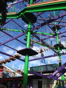 vertigo aerial assault course