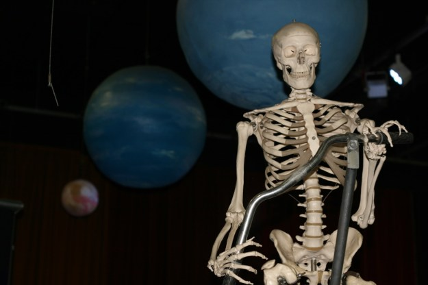 planets and my skeleton
