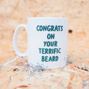 Veronica Dearly congrats on your terrific beard mug dillyandtheboo fathers day gift guide