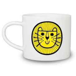 Dilly and the boo blog art inspired decor Lion Mug Jane Foster