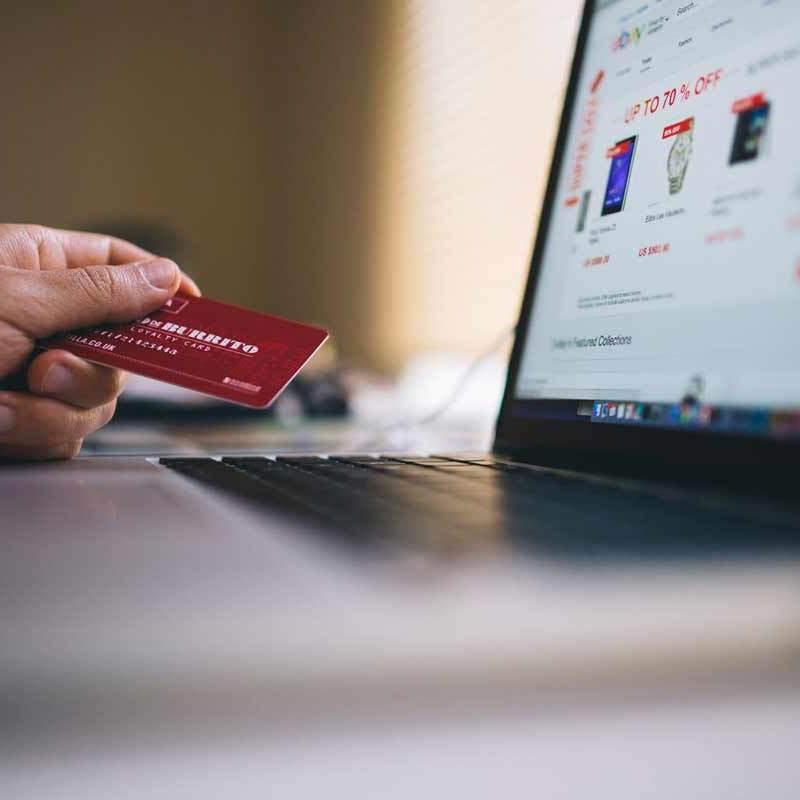 Pagar con tarjeta de crédito en tienda online