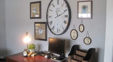 Best place for wall clock according to Vastushastra (2)