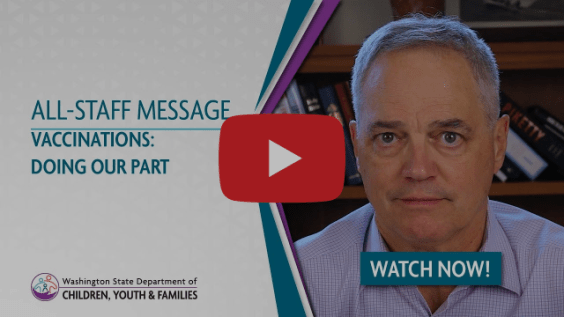 All-Staff Message | Vaccinations: Doing Our Part