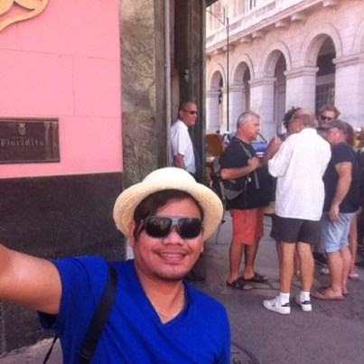 selfie in hava