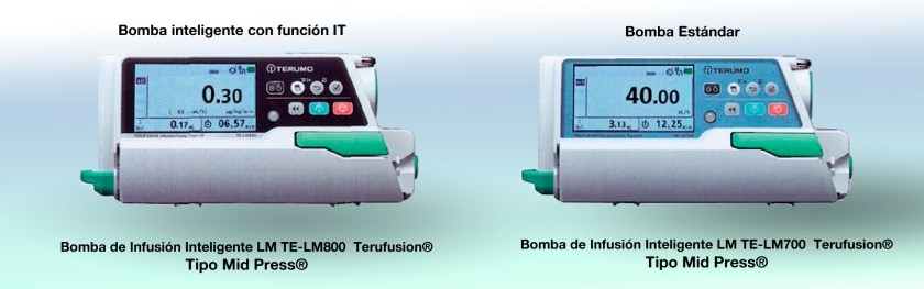Bomba de Infusión Inteligente LM 800 Terumo® Smart Infusion System