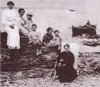 Salvador Dali and family, 1910