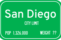 San Diego Ties for Least Obese