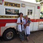 Africmed Dorien and Dr Cynthia