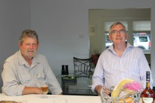 Port Melbourne (Vic) - Pete and Ian