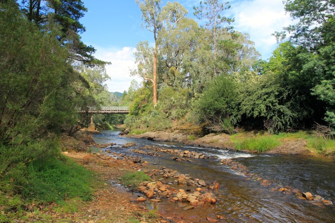 Bright - Ovens River After The Rain (Vic)