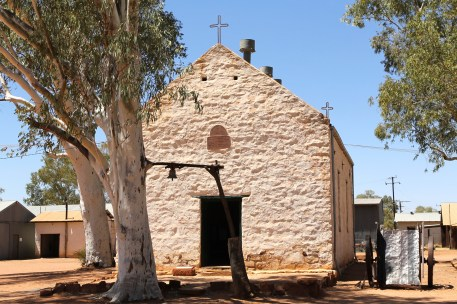 Hermannsburg Historical Precinct - Old Church (NT)