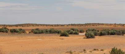 Changing Scenery On The William Creek Road (SA)