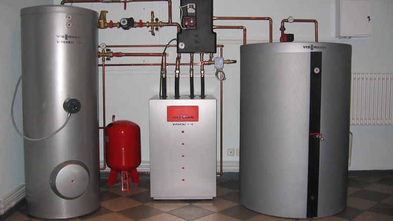 двухконтурный газовый котел отопления