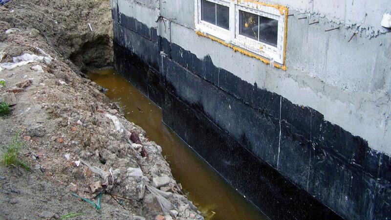 гидроизоляция для фундамента