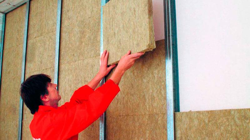 современные материалы для шумоизоляции стен