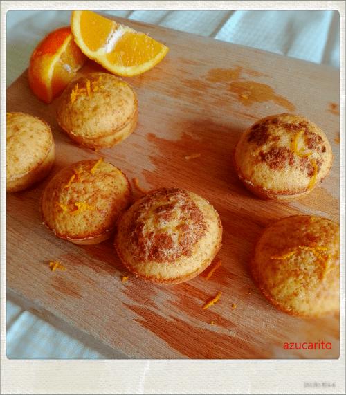Queques de naranja