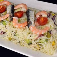 Ensalada de arroz muy nutritiva