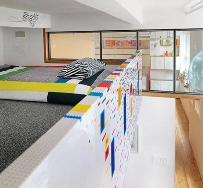 Dekorasi Rumah dengan Lego