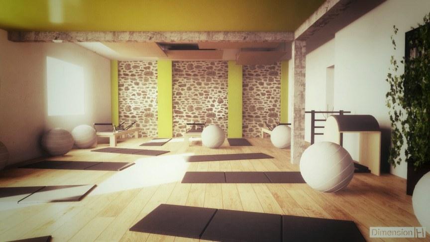 Dimension H Salle De Pilates
