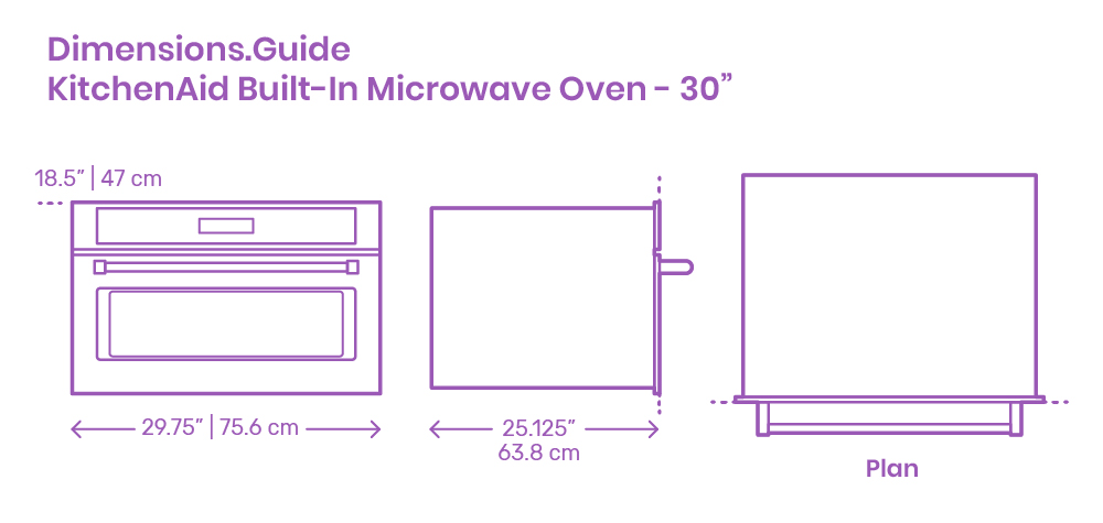 kitchenaid built in microwave oven 30