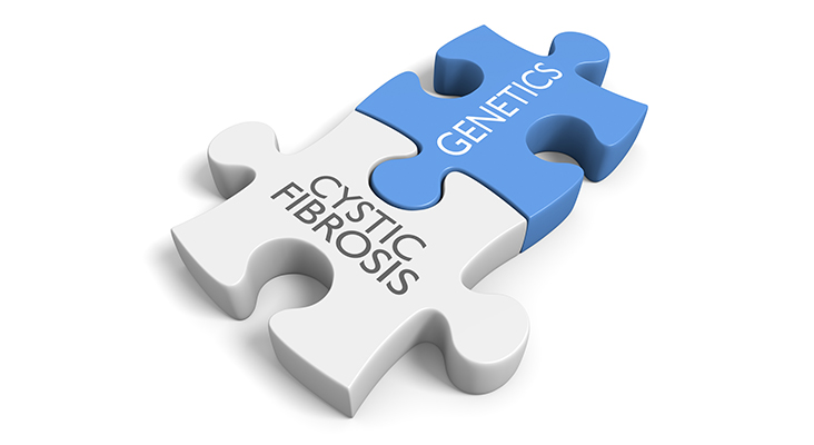 Link between genetics and the cystic fibrosis disorder