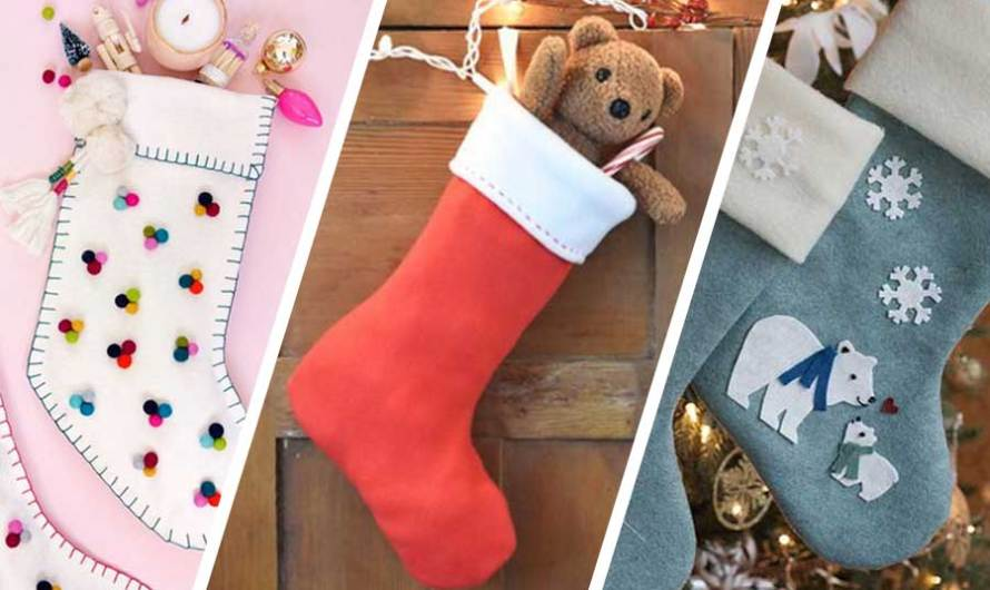 25 Christmas Stocking Sewing Patterns for More & Less Experienced Makers