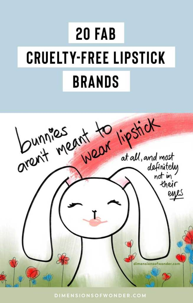 fabulous cruelty-free lipsticks exist in different colors for all occasions