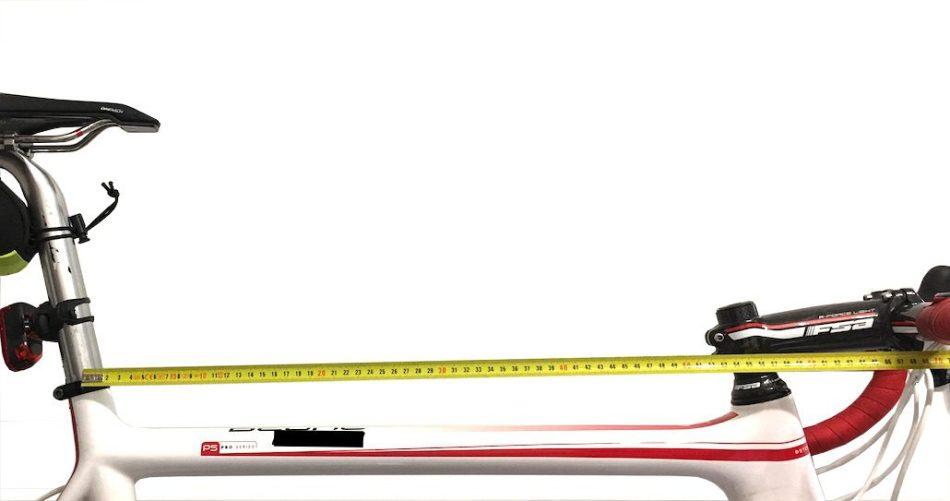 Avancée du guidon. Pour trouver les bonne dimensions de votre vélo indépendamment de sa taille