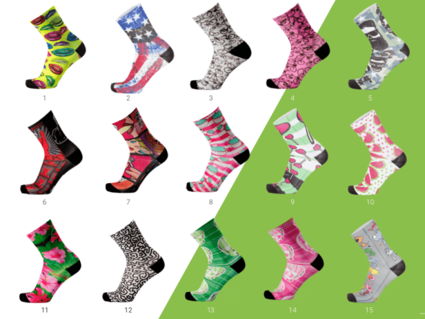 Chaussettes Fun de MB Wear