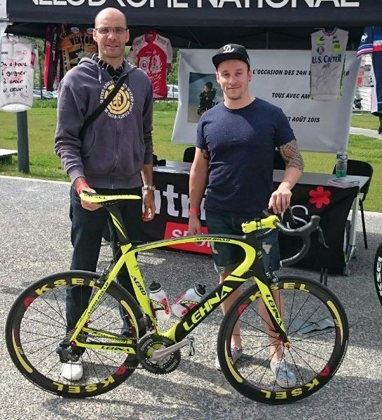 Fabrice Joudioux, Charlie Conord et un vélo Lehna