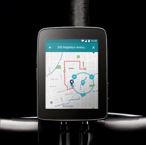 Ecran de navigation Hammerhead Karoo. Nouveautés 2020