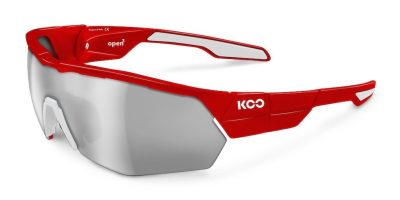 Lunettes Koo Open Cube rouge