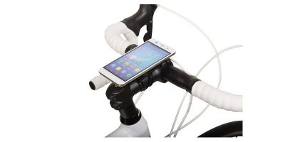 Zefal Universal Phone Adapter sur le vélo