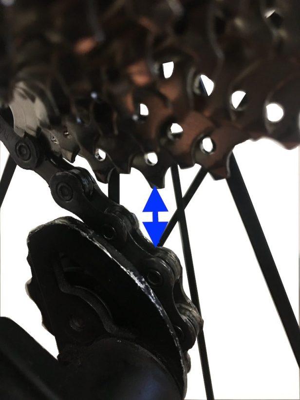 réglage du dérailleur arrière. dérailleurs Shimano