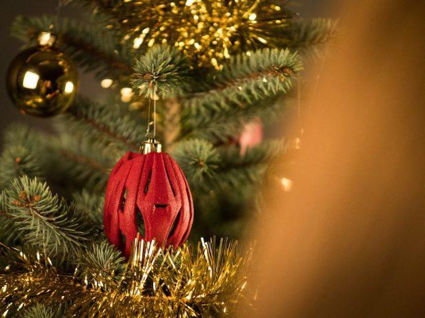 Boule de Noël minicasque