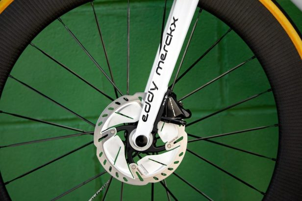 rotor de 160 mm Shimano Vélos Équipes Pros 2020